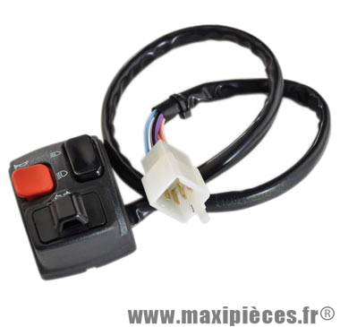 Commutateur/commodo gauche adaptable derbi 50cc senda drd gilera rcr smt