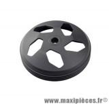 tambour d'embrayage noir tun'r pour booster nitro sr50 f12 perforé diamètre107.