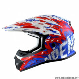 Casque cross enfant marque NoEnd Cracked taille YS couleur USA