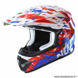 Casque cross adulte marque NoEnd Cracked taille XXL (T63-64) couleur USA