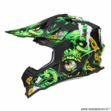 Casque cross adulte marque NOX N632 Inferno taille L (T59-60) couleur vert
