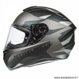 Casque intégral adulte marque MT Helmets Targo Enjoy taille M (T57-58) couleur gris mat