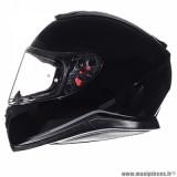 Casque intégral adulte marque MT Helmets Thunder 3 SV taille XXL (T63-64) couleur uni noir brillant