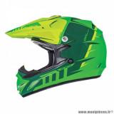 Casque cross enfant marque MT Helmets MX2 Spec Kid taille YXL (T53-54) couleur vert jaune fluo