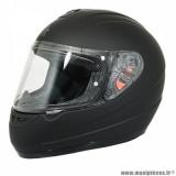 Casque intégral enfant marque MT Helmets Kid Thunder taille YXL couleur uni noir mat