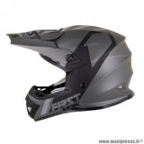 Casque cross adulte marque First Racing K2 taille S (T55-56) couleur gris anthracite noir
