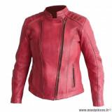 Blouson femme marque Archive Venice taille XL - En cuir de vachette