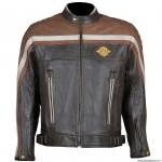 Blouson homme marque Archive Bobber taille XL - En cuir de vachette