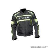 Blouson marque Trendy Hiems taille S couleur noir jaune
