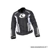 Blouson marque Trendy Karma taille S couleur noir blanc gris