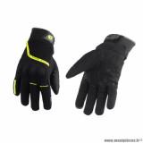 Gants hiver marque Trendy GT220 Lanz taille L / T10 couleur noir jaune fluo