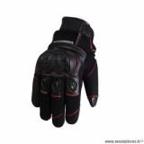 Gants hiver marque Trendy GT320 Cypress taille XXL / T12 couleur noir rouge