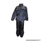 Combinaison de pluie marque Trendy taille XXL couleur noir - Ensemble 2 pièces veste + pantalon
