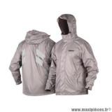 Veste de pluie marque Shad taille L couleur gris foncé