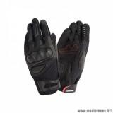 Gants printemps/été homme marque Tucano Urbano MRK2 taille M / T9 couleur noir - Comptaible écran tactile