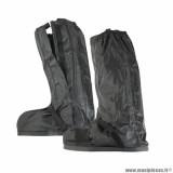 Sur-bottes automne-hiver marque Tucano Urbano avec ouverture latérale couleur noir - Pour chaussures 40-41
