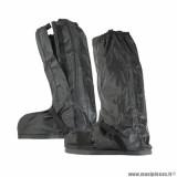 Sur-bottes automne-hiver marque Tucano Urbano avec ouverture latérale couleur noir - Pour chaussures 44-45