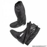 Sur-chaussures automne-hiver marque Tucano Urbano avec ouverture latérale taille XS couleur noir - Pour chaussures 38-39