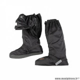 Sur-chaussures automne-hiver marque Tucano Urbano avec ouverture latérale taille S couleur noir - Pour chaussures 40-41