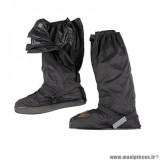 Sur-chaussures automne-hiver marque Tucano Urbano avec ouverture latérale taille XL couleur noir - Pour chaussures 46-47