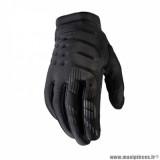 Gants printemps/été marque 100% Brisker taille XL / T11 couleur noir gris
