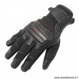 Gants printemps/été marque ADX Ventura taille XXL / T12 couleur noir rouge