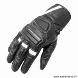 Gants printemps/été marque ADX Shafter taille XXL / T12 couleur noir blanc
