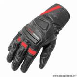 Gants printemps/été marque ADX Shafter taille S / T8 couleur noir rouge