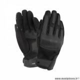 Gants printemps/été homme marque Tucano Urbano Windy taille S / T8 couleur noir - Comptaible écran tactile