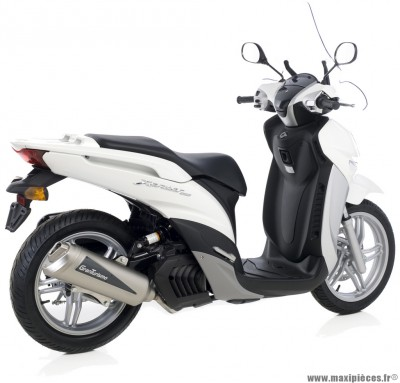 Pot d'echappement leovince granturismo maxi scooter 125 kymco people gti