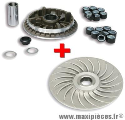 Variateur multivar 2000 mhr + poulie ventilvar 2000 malossi pour yamaha t-max.