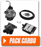 Pack carburation