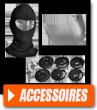 Accessoires de casque pour motard