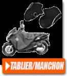 Tabliers et manchons pour moto et scooter