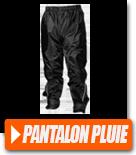 Pantalon de pluie moto