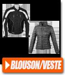 Blousons et vestes pour motard
