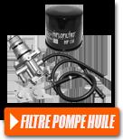 Filtre et pompe à huile