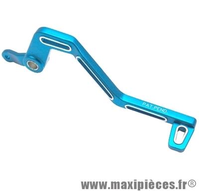 pedale de frein de 50 a boite lighty pour x-limit alu bleu