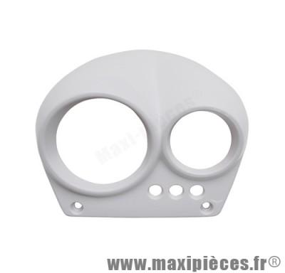 prix discount ! couvre compteur blanc mat adaptable origine pour mbk nitro/yamaha aerox