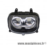 Phare optique avant adaptable origine pour mbk booster yamaha bw's (2004)