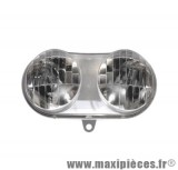 Phare optique avant adaptable origine pour mbk booster ng yamaha bws spy