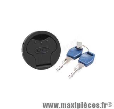 bouchon d'essence antivol de 50 a boite pour derbi senda r + sm drd pro euro2 (diametre reservoir 52mm)