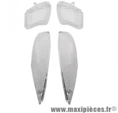 Cabochon de clignotant blanc avant et arrière pour booster ng a partir de 1999