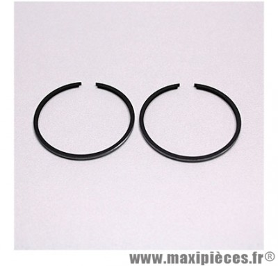 Segment pour piston de scooter adaptable origine : peugeot buxy zenith treeker tkr vivacity speedfight elyseo elystar looxor squab x-fight ... (1,5mm) (vendu par 2)