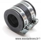 Manchon pour carburateur universel diamètre intérieur 24/24mm longueur 36mm