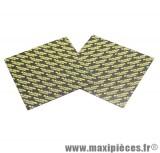 Feuille malossi type karbonit pour faire les lamelles de clapet carbone (épaisseur 0,30) en plaque de 100x100mm (vendu par 2)