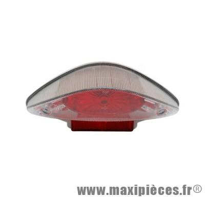 Feu arrière lexus adaptable origine pour mbk nitro yamaha aerox cpi pop corn oliver keeway magnum