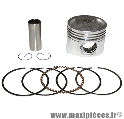 Piston de scooter adaptable origine pour de scooter chinois 50cc 4t (moteur qmb139)) (diametre 39,00)