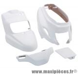 Kit carrosserie carénage blanc pour booster (2004 et après) (4 pièces)