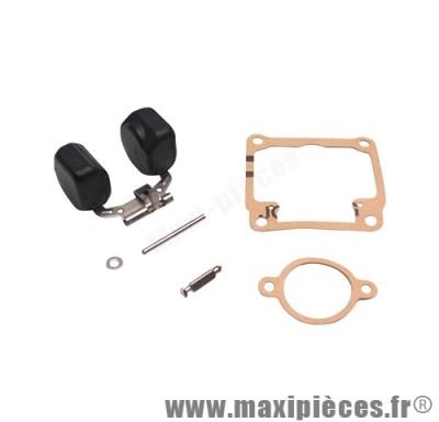 Prix spécial ! kit réparation flotteur pour carbu dellorto et adaptable de type phbg (flotteur/pointeau/axe/joints)
